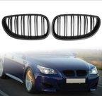 BMW-E60-dual-slat-glans-zwarte-grille