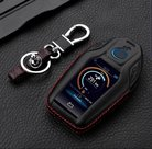 BMW-G30-G11-G12-LCD-key-leren-hoes-met-rode-sticksels