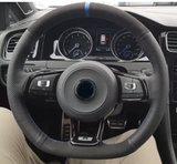 VW Golf 7 alcantara stuur hoes diversen kleuren_