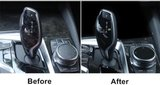 BMW 5 serie G30 pook en multimedia bescherm filter set_